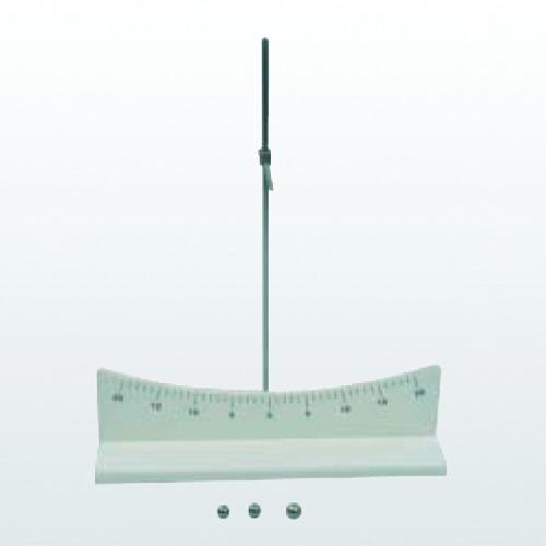 圆弧轨道:曲率半径60cm